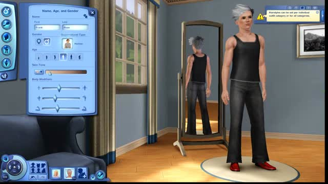 I decided to create a monster family in the Sims 3supernatural